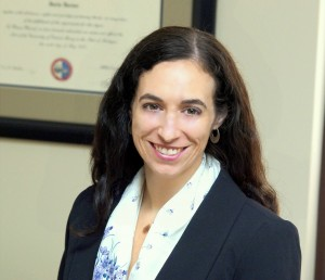 Melissa Indish of the Immigration Law Clinic