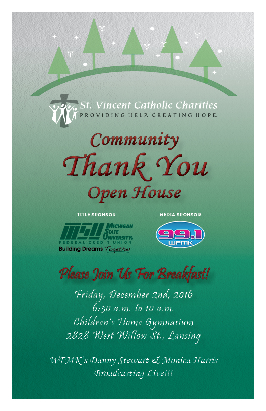 34th annual community thank you open house