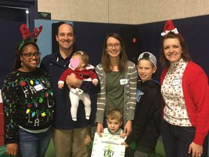 Family is Forever - Mayes Family at 2017 STVCC Christmas Party